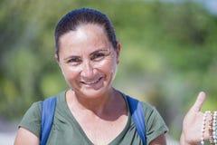 Belle femme mexicaine dans Cancun Photographie stock libre de droits