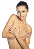 Belle femme nue Image stock