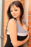 Belle femme sensible Photographie stock libre de droits