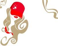 Belle femme stylisée Photographie stock libre de droits