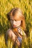 Belle fille Image libre de droits