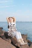 Belle fille Image stock
