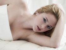 Belle fille Images stock