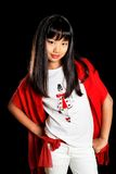 Belle fille asiatique Photographie stock