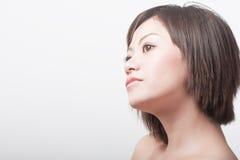 Belle fille avec la peau saine Photographie stock libre de droits
