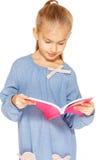 Belle fille avec le cahier Photo libre de droits