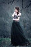 Belle fille avec le long cheveu Photographie stock libre de droits