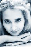 Belle fille blonde photos libres de droits
