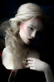 Belle fille blonde Image stock