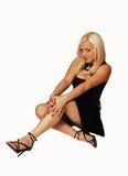 belle fille blonde photo libre de droits