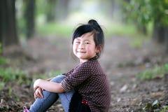 Belle fille chinoise image libre de droits