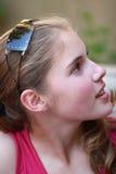 Belle fille d'adolescent Photo stock