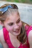 Belle fille d'adolescent Photos stock