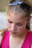 Belle fille d'adolescent Image libre de droits