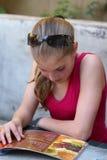 Belle fille d'adolescent Photographie stock libre de droits