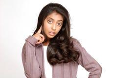 Belle fille d'adolescent Images libres de droits