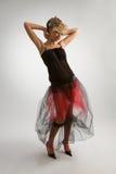 Belle fille dans la jupe diaphane Photographie stock libre de droits