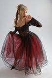 Belle fille dans la robe diaphane Photographie stock libre de droits