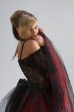 Belle fille dans la robe diaphane Image libre de droits