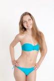 Belle fille dans le bikini Photographie stock