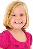 Belle fille de 7 ans Image stock