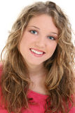 Belle fille de l'adolescence de seize ans photos stock