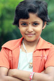 Belle fille de l'adolescence indienne Image stock