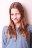 Belle fille de l'adolescence mignonne Image libre de droits