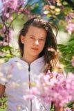 Belle fille de ressort Photographie stock libre de droits