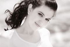 Belle fille douce Photographie stock
