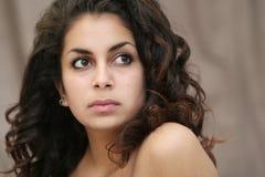 Belle fille du Moyen-Orient photo libre de droits