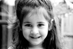 Belle fille heureuse Images libres de droits