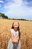 Belle fille heureuse Photo stock