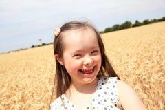 Belle fille heureuse Image libre de droits