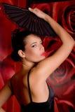 Belle fille hispanique Photographie stock