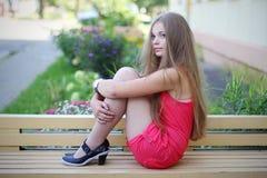 Belle fille mignonne photo libre de droits