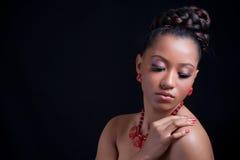 Belle fille sensuelle Photos libres de droits