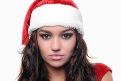 Belle fille sexy de Noël Photo libre de droits