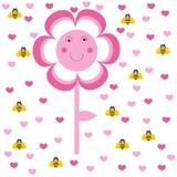 Belle fleur illustration de vecteur