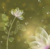 Belle fleur d'imagination illustration libre de droits