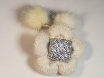 Belle fleur de laine avec la décoration Images stock