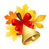 Belle foglie di autunno Immagini Stock Libere da Diritti
