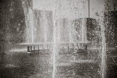 Belle fontaine en parc, vieille ville de Boukhara, l'Ouzbékistan Images stock