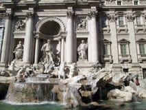 Belle fontaine romantique et antique Rome Italie de TREVI Photographie stock