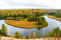 Belle forêt en automne Photographie stock libre de droits