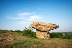 Belle formation de roche de phénomène naturel - champignon photographie stock libre de droits