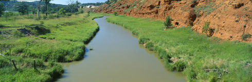 Belle Fourche River Stock Photography