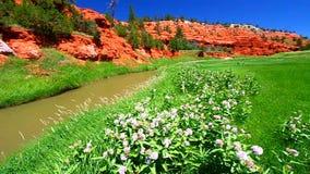 Belle Fourche rzeka Wyoming zbiory wideo