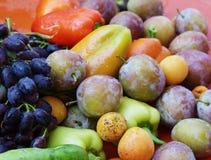 Belle frutta e verdure Fotografia Stock