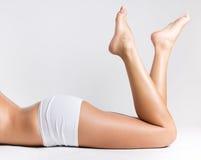 Belle gambe della donna fotografie stock libere da diritti